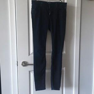 Vince Vintage Boy' Skinny Jeans Midnight Oil
